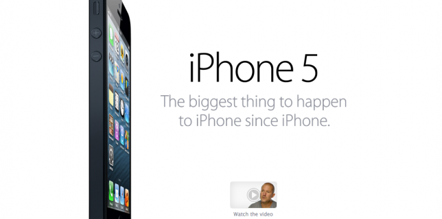 Live Video Stream and Photos from Apple's iPhone 5 event