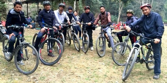cycling from godawari