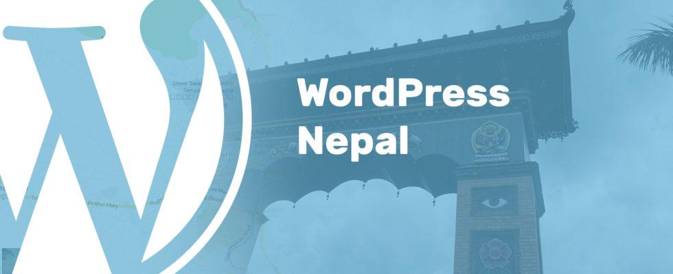 WordCamp Kathmandu/WordPress Nepal