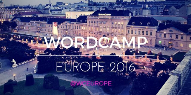 WordCamp Europe 2016 Vienna