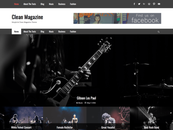 Clean Magazine Screenshot