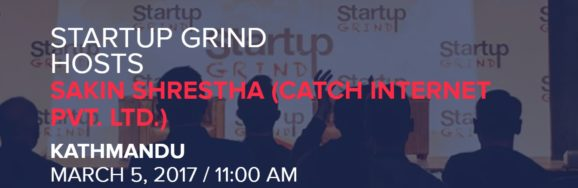 Startup Grind Kathmandu Banner