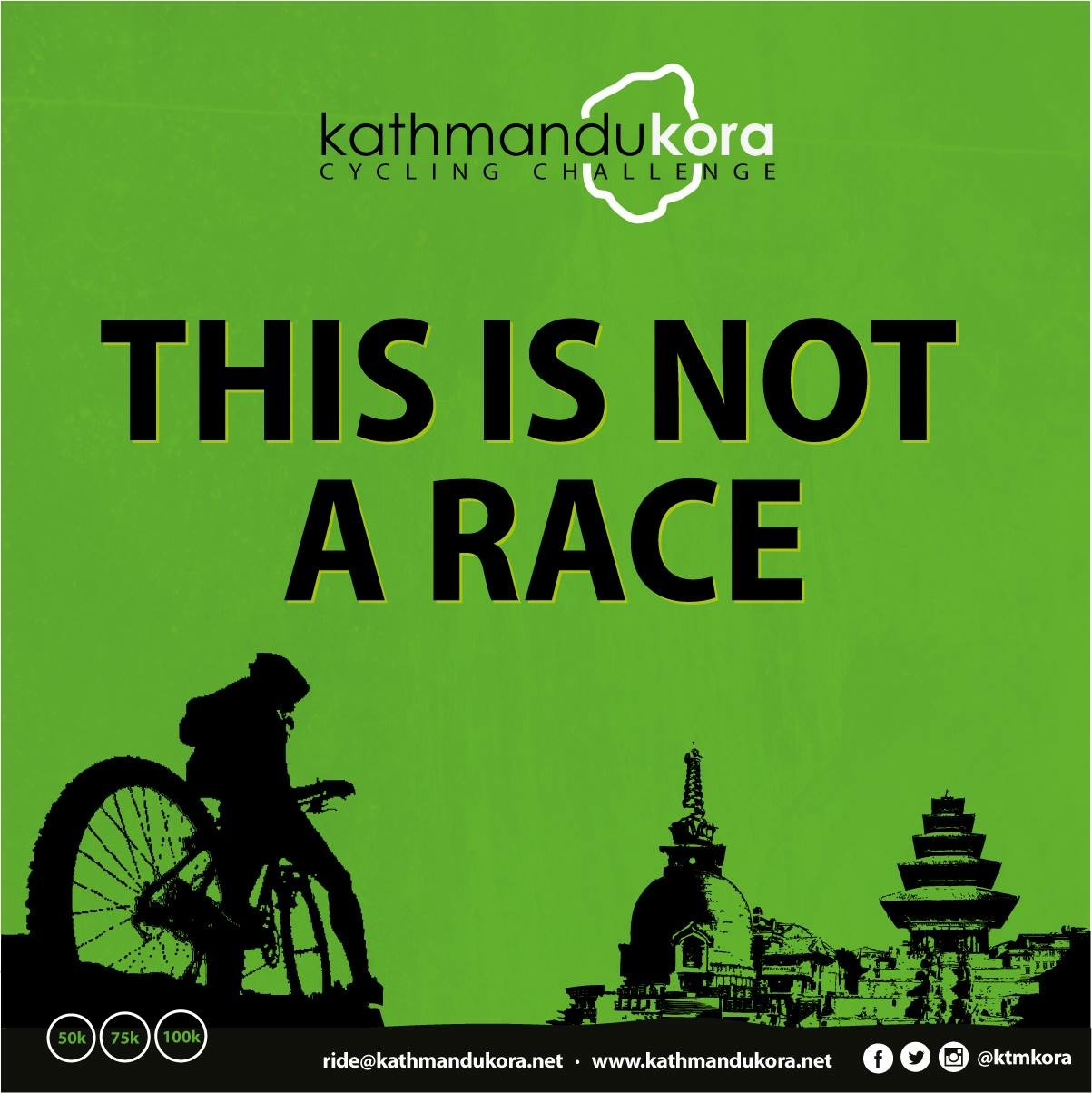 this is not a race - ktm kora